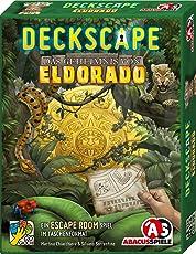 ABACUSSPIELE 38183 - Deckscape - Das Geheimnis von Eldorado, Escape Room Spiel, Kartenspiel