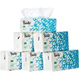 Amazon Brand - Presto! 2 Ply Facial Tissue Soft Pack - 200 Pulls (Pack of 6)