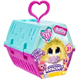 Scruff-a-Luvs Scruff-A-Luvs Rescue Pet Soft Toy Babies Collectables with Pet Carrier Case, Multi-Colour