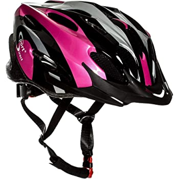 sport direct damen fahrradhelm pink mit 22. Black Bedroom Furniture Sets. Home Design Ideas