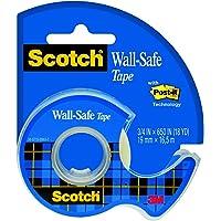 Scotch 183 Wall Safe Ruban Mat Préserve mur 16,5 m x 19 mm