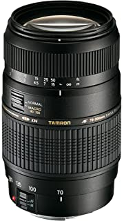 Tamron A17E AF 70 300mm F/4 5.6 Di LD Macro Telephoto Zoom Lens with Hood for Canon DSLR Camera  Black