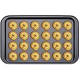 Plaque à Patisserie Noir,Plaque Rectangulaire Pan en Acier au Carbone,Biscuit Plat de Plaque de Cuisson Antiadhésive Revêteme