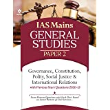 IAS Mains Paper 2 Governance Constitution, Polity Social Justice & International Relations 2021