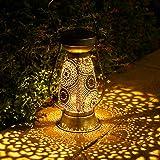 Lanterne Solaire, Görvitor LED Lanterne Solaire Exterieur, IP44 étanche Lanterne Solaire Exterieur Jardin, Lampe Solaire Ext