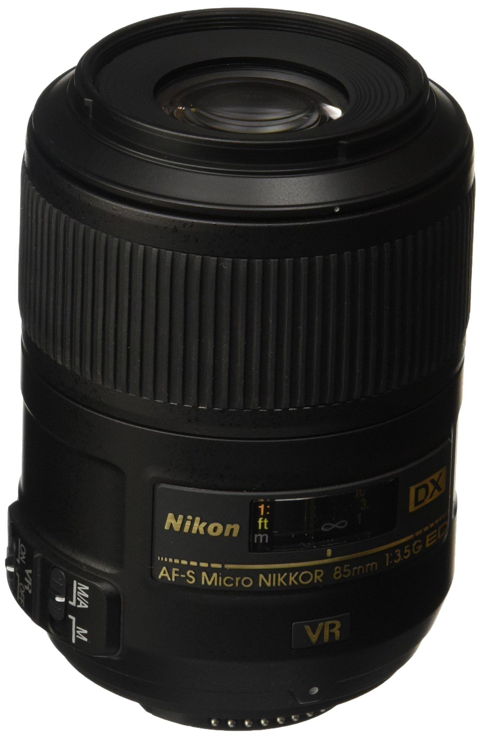 Nikon AF-S DX 85mm f3.5 G ED VR Micro