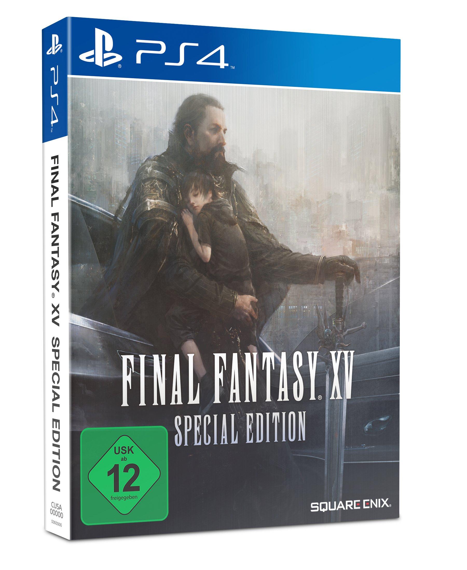 Final Fantasy XV Steelbook Edition – PlayStation 4 [Importación alemana]