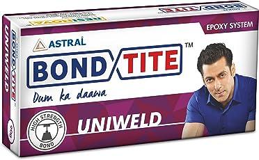 Resinova Bondtite Uniweld Epoxy Adhesive (3g) Pack of 24