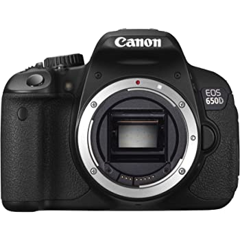 Canon EOS 650D Fotocamera Reflex Digitale 18 Megapixel, Touch screen, Full HD