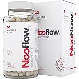Nooflow Absolute Mind - Premium Nootropic | Für Konzentration, Gedächtnis, Lernen, Stimmung und Gesundheit des Gehirns | Mit Alpha-GPC, Huperzine A, Bacopa Monnieri, Ashwagandha | 60 Kapseln