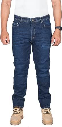 Hb Motorradhose Motorrad Dupont Kevlar Jeans Herren Straight Fit Blau Motorradhose Mit Ce Protektoren Auto