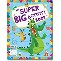 My Super Big Activity Book for Kids (128 Pages) | Variety of Activities with Answers