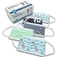 50 Mund und Nasenschutz Gemusterte Kinder Maske für Kind |Masken Mundschutz - Normen 14683:2019 CE Zertifizierte…