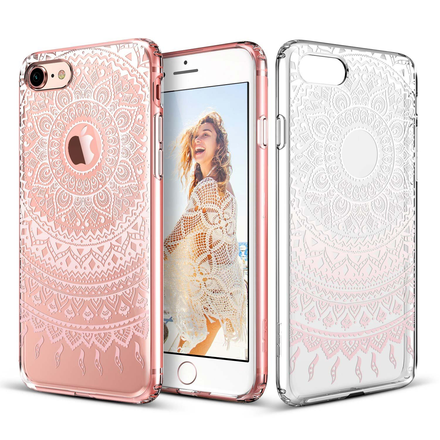 coque transparente motif iphone 8 plus
