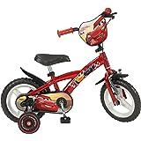 """TOIMS - Bicicletta da 12"""" (30,48 cm), Motivo Cars, per Bambini di 3-5 Anni"""