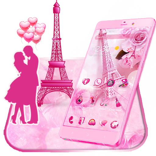 Pink Paris Love Theme Wallpaper Amazoncouk Appstore For Android