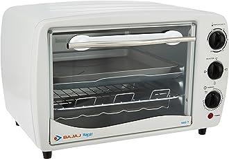 (Certified REFURBISHED) Bajaj 1603T 16-Litre Oven Toaster Grill (White)