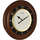 Seiko Wood Coloured Fancy Wall Clock - Qxa646zls