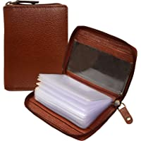 ABYS Unisex Leather Card Case (Brown_8129ABDQ008)