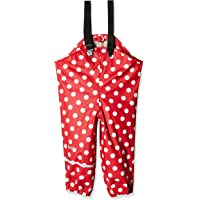 CareTec Pantaloni Impermeabili Unisex Unisex bambino/Bambina, Rosso (Red 402), 92