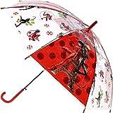 Textiel Trade - Paraguas para niños, diseño de mariquita milagrosa
