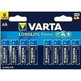 VARTA Longlife Power Batterij (AA Mignon alkaline batterijen LR6 - 8-pack)
