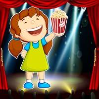 Hollywood Movie Theater : il gioco gara di tiro burro popcorn - gold edition