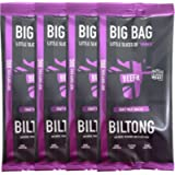 BEEFit Snacks 1kg of Deep South Dixie BBQ Biltong, High Protein, Healthy, Low Sugar, On The Go Snack - Beef Jerky…