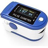 PULOX PO-200 solo pulsossimetro sensore di saturazione di ossigeno e polso cardiofrequenzimetro di colori diversi con…