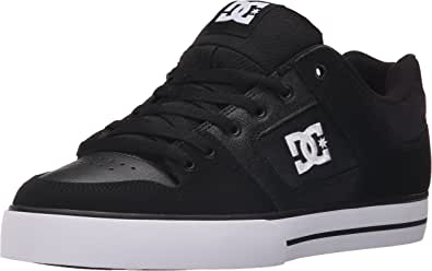 DC Skateboard Shoes PURE BLACK/BLACK/WHITE