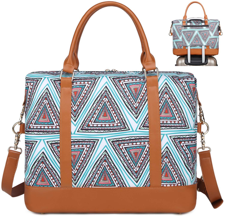 812tgYmKHJL - Bolso de Viaje Mujer de Mano Impermeable Bolso de Compras Grande Bolsa de Deporte Duffle Bag con Puerto USB para…
