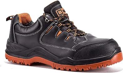 Black Hammer Scarpe Impermeabili Antinfortunistiche S3 SRC Sicurezza da Uomo Leggere in Materiale Composito e Intersuola Kevlar Traspirante Sneaker da Lavoro Leggere 9007