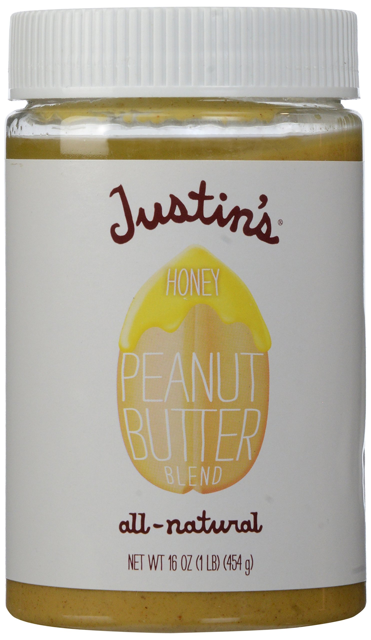 Justin's Nut Butter Honey Classic Peanut Butter, 16 oz