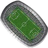 Voetbal Party borden 18x27 cm (8 stuks)