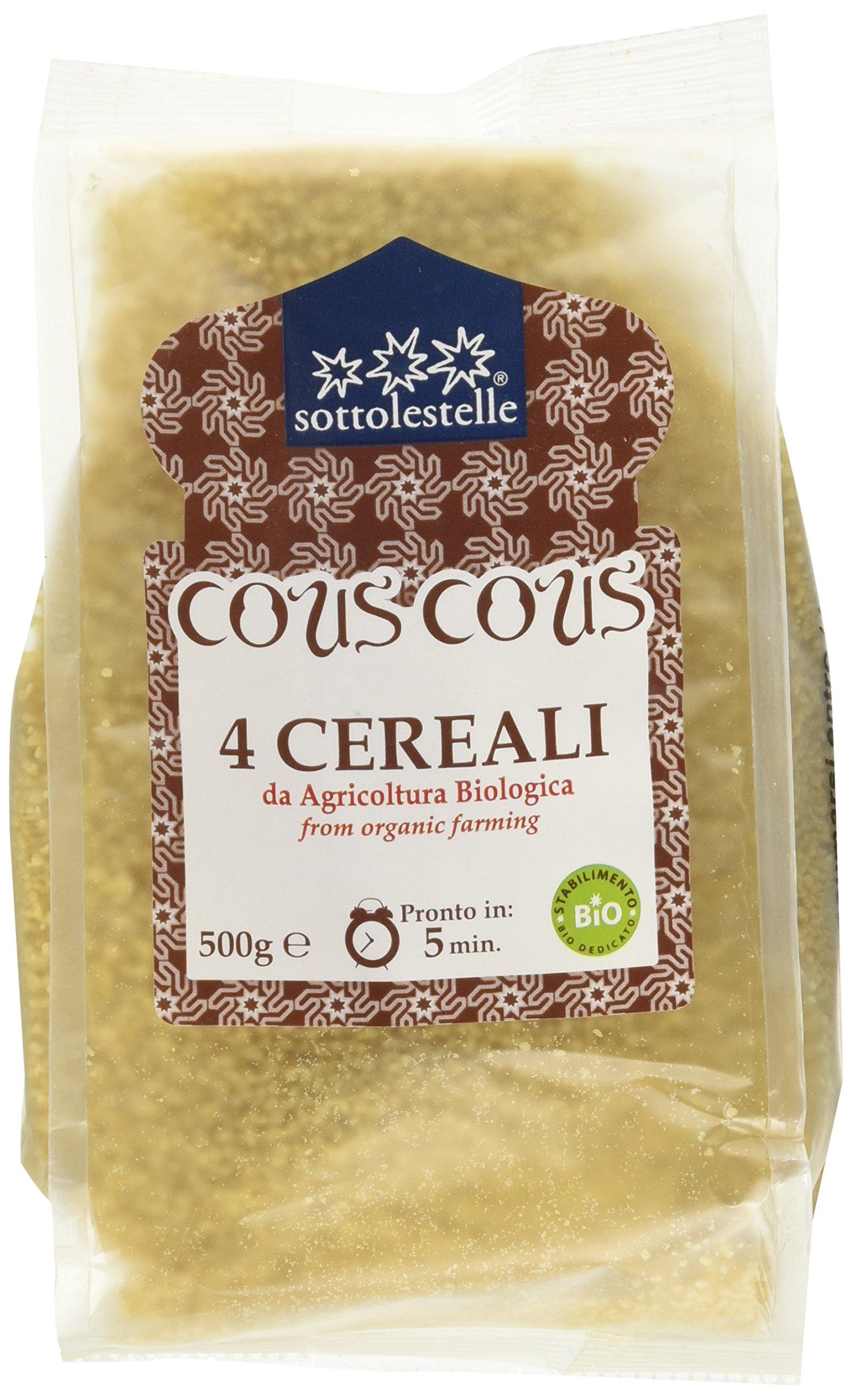 Sottolestelle Cous Cous 4 Cereali - 6 pezzi da 500 g [3 kg] 1 spesavip