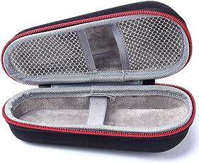 SUPVOX Electric Shaver Bag Razor Travel Case Protective (Black)