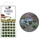 War World Scenics Självhäftande statisk gräs tufts x 100 – höst, 4 mm – modell järnväg krigslandskap järnväg modellering dior