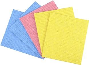 Gala Sponge Wipe (Multicolor, 5 Pieces Set)