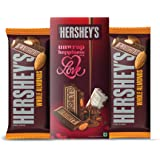 Hershey's Bar Valentine Greeting Pack Almond Chocolate, 100 gm (Pack of 2)