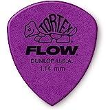 Jim Dunlop Tortex Flow Standard Negro, Color Morado adaptador de cable