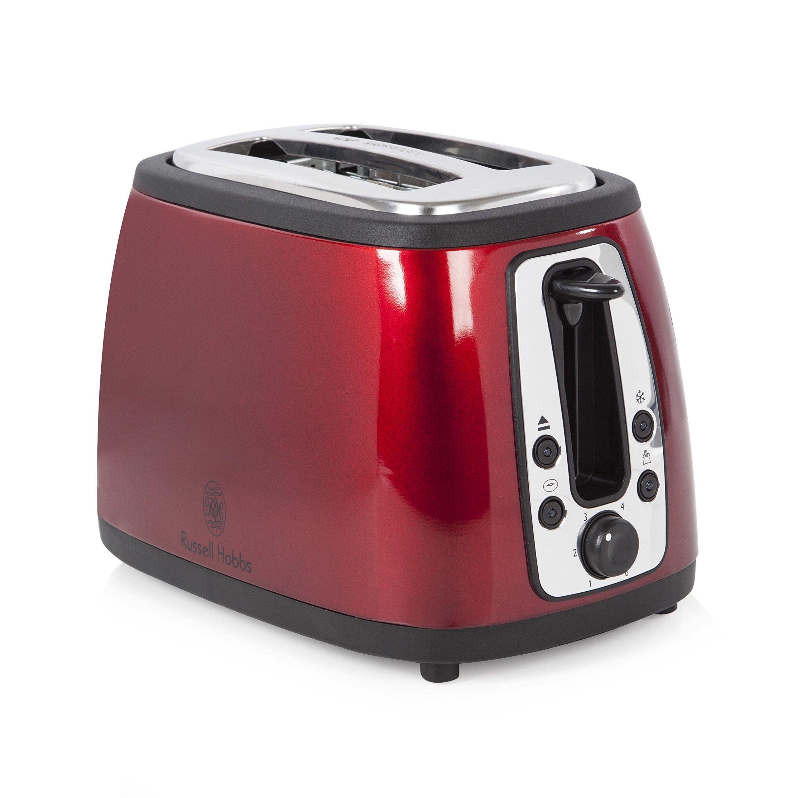 Russell Hobbs 19150 Heritage 2-Slice Toaster - Metallic Red