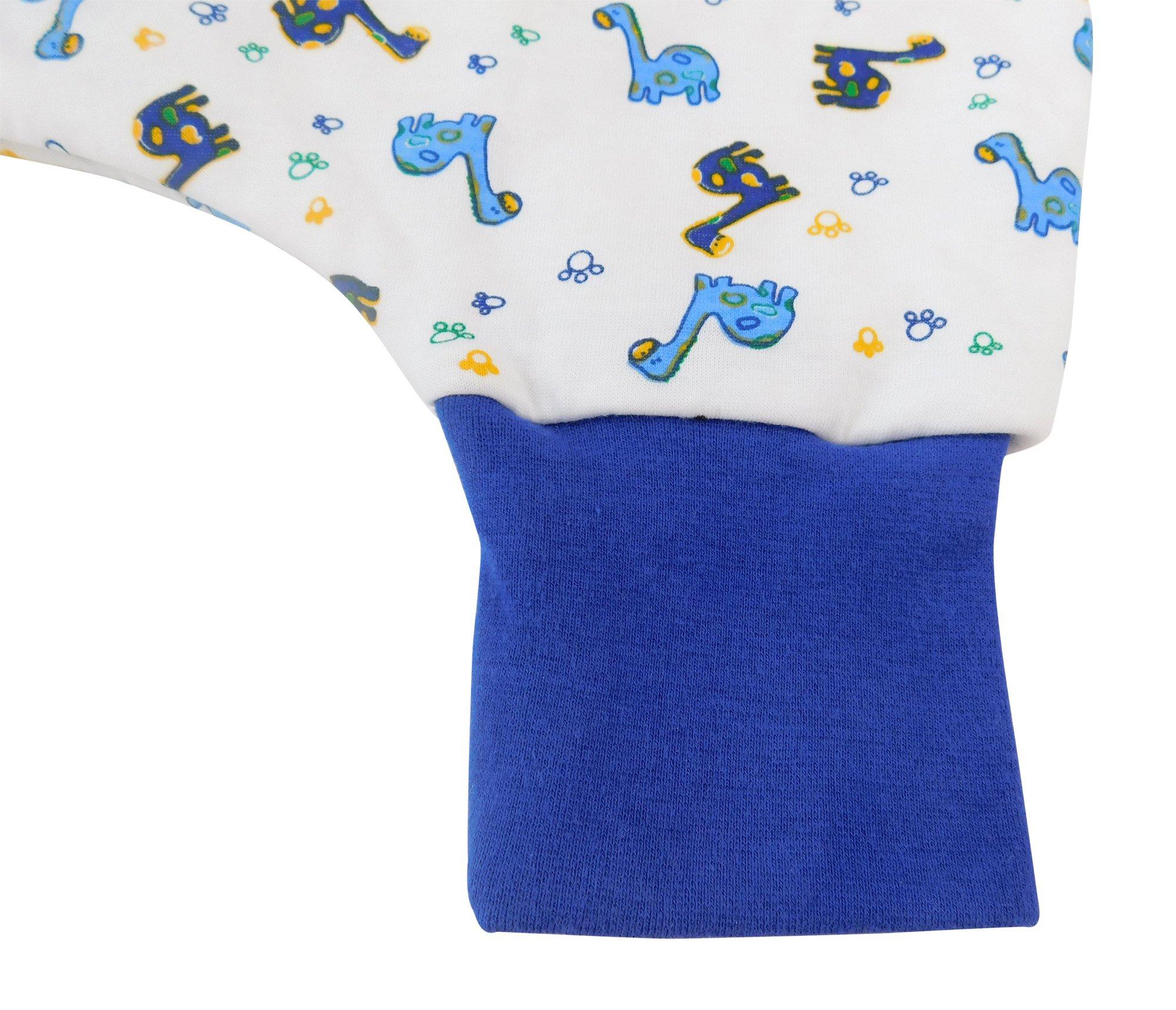 Slumbersac Saco de dormir de verano con pies 1.0 Tog – Dinosaur – varios tamaños