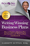 Writing Winning Business Plans: How to Prepare a Business Plan that Investors Will Want to Read and Invest In (Rich Dad Advisors) (English Edition)