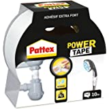 Pattex Power Tape reparatietape in doos, 10 m, wit