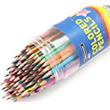 SKKSTATIONERY 80Pcs Coloured Pencils,80 Vibrant Colours, Drawing Pencils for Sketch, Arts, Colouring Books