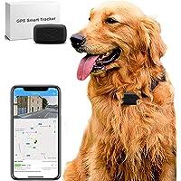 LMHOME - Mini localizzatore GPS per cani e gatti da 11 kg, impermeabile, IP67, monitoraggio delle attività in tempo…
