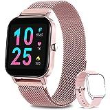 AIMIUVEI Smartwatch Donna, Orologio Fitness Tracker da 1,4 Pollici Smart Watch Bluetooth Contapassi Calorie Cardiofrequenzime