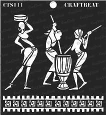 thecraftshop Tribal Chores Craftreat Stencil (6x6-inch)