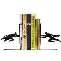 HeavenlyKraft Superheros Decorative Metal Bookend, Non Skid Book End, Book Stopper for Home/Office Decor/Shelves…