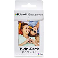 Polaroid 2x3 Premium Zink Zero Photo Paper 20 Sheets - Compatible with Polaroid Snap/SnapTouch Instant Print Digital…